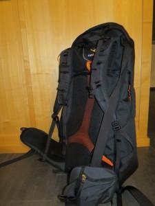 perfekter Rucksack Backpacking